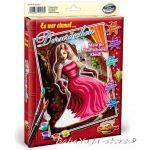 Shipper КАРТИНА за рисуване комплект с бои и четка СПЯЩАТА КРАСАВИЦА - 9150623