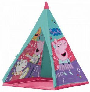 John ПАЛАТКА Прасето Пепа 100х100х140см., Topee Peppa Pig Tent, 72807