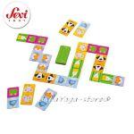 SEVI Дървена Игра ДОМИНО от серията Travel game - 82473 Domino
