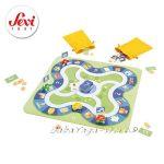 SEVI Дървена Игра ТАКСИ семейна и настолна от серията Board Games на Trudi - 82025