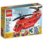 LEGO Creator ЧЕРВЕН РОТОР 3в1, Red Rotor, 31003 (A)