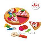 ПИЦА дървена игра с марката Sevi - 82319