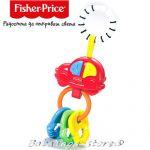 Fisher Price Играчка музикална за количка Musical Keys от серията Link-a-Doos - G6648