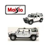Maisto Premiere Edition ДЖИП 1:18 HAMMER H2 SUV - бял - 36631