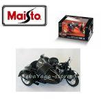 Maisto МОТОР С КОШ Harley Davidson 1:18 черен - 31108