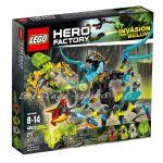 LEGO HERO FACTORY Кралицата ЗВЯР срещу ФЪРНО и ЕВО, Queen Beast vs. Furno & Evo Stormer, 44029