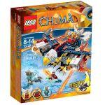 2014 LEGO Конструктор CHIMA Огнения орел летяща машина на Ерис Eris' Fire Eagle Flyer - 70142