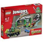 LEGO JUNIORS Леговището на костенурките, Turtle Lair, 10669