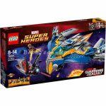 LEGO SUPER HEROЕS Спасяване с космическия кораб Милано The Milano Spaceship Rescue, 76021
