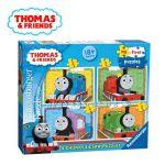 Ravensburger ПЪЗЕЛ за деца с влакчето ТОМАС и приятели от Thomas & Friends My First puzzle 4в1 - 073047