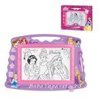 РИСУВАТЕЛНА магнитна дъска с Принцесите Princess - 12234
