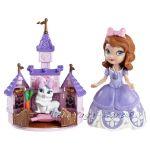 Disney Sofia the First Princess Кукла СОФИЯ и ЗАЙЧЕТО Джинжър - BDK53