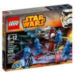 LEGO STAR WARS Командоси на Сената Senate Commando Troopers, 75088