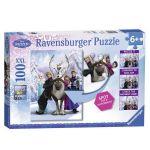 Ravensburger ПЪЗЕЛ за деца ЗАМРЪЗНАЛОТО КРАЛСТВО Frozen Spot The Difference Puzzle - 105571