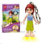 LEGO Friends Ключодържател фигурка Mia с LED светлина, 7055
