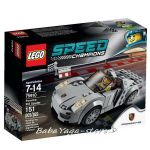 LEGO SPEED Champions Състезателна кола Porsche 918 Spyder, 75910