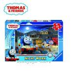 Ravensburger ПЪЗЕЛ за деца с влакчето ТОМАС от Thomas & Friends Glow in the Dark: Night Work - 096046