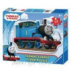 Ravensburger ПЪЗЕЛ за деца с влакчето ТОМАС от Thomas & Friends Shaped Giant Floore puzzle, 053728