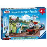 Ravensburger ПЪЗЕЛ за деца с влакчето ТОМАС от Thomas & Friends 2х24 puzzle - 091133