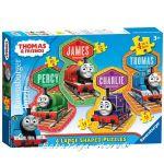 Ravensburger ПЪЗЕЛ за деца с влакчето ТОМАС и приятели от Thomas & Friends Large Shaped puzzle 4в1, 072385
