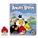 Детско одеяло Ядосани птици - Angry Birds fleece blanket