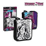 Чанта за оцветяване Monster High shoulder bag for painting, 282701