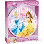 Стенен часовник за детска стая Принцесите 25cm - Princess wall Clock 10460