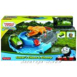 Fisher Price Игрален комплект ГАТОР Thomas & Friends Gator's Chase & Chomp Play Set от серията Take-n-Play CDN05