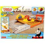 Fisher Price Игрален комплект САЛТИ Thomas & Friends Salty's Flip Track Playset от серията Take-n-Play BCX19