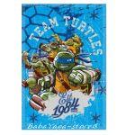 Детско одеяло Костенурките НИНДЖА Turtle fleece blanket team - 07207