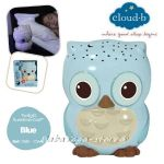 7461 Нощна прожекционна лампа БУХАЛ за детска стая от CloudB, Twilight Sunshine Owl, blue
