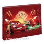 Картина с LED светлина за детска стая КОЛИТЕ - Cars canvas 440011