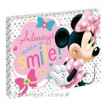 Картина с LED светлина за детска стая МИНИ МАУС - Minnie Mause canvas 440015