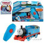 Fisher Price Влакче ТОМАС с дистанционно, Thomas & Frieds Motorized THOMAS Engine remote control от серията TrackMaster, CJX82