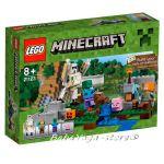 LEGO Minecraft Железният Великан, The Iron Golem, 21123