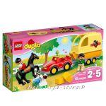 LEGO DUPLO Ремарке за Конче Horse Trailer, 10807