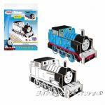 3D Креативен комплект за сглобяване и оцветяване Thomas & Friends Creative set - colour pencils 321793