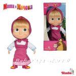Simba - Маша и мечока - Мека кукла МАША, 23 см - 109306372