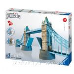 Ravensburger 3D ПЪЗЕЛ Световни забележителности: Тауър Бридж, Tower Bridge London, 12559