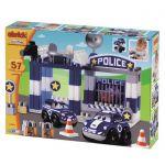 Ecoiffier Abrick Конструктор Полицейска станция Абрик (57ч), 3081