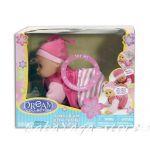 БЕБЕ-кукла 30см Лазещо, смее, плаче от серията Dream collection Crawling baby - 28614