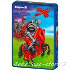ПЪЗЕЛ Playmobil РИЦАР в метална кутия (40) на Schmidt - 54000