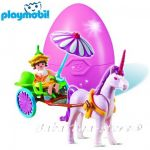 Playmobil Конструктор Каляска с еднорог Fairy child with unicorn coach - 4934