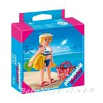 Playmobil Конструктор Турист Holiday on the Beach Special - 4695