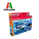 Italeri Сглобяем модел самолет F-51D Mustang, 510071086