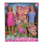 КУКЛА Steffi Love Щастливо семейство, Simba toys 105733200