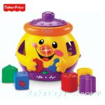 Fisher Price Образователна играчка за сортиране на бълг. език, Laugh & Learn Cookie Shape Surprise - DKK06