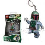 LEGO Star Wars Ключодържател с LED светлина BOBA FETT