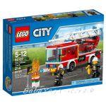 LEGO City Пожарникарски камион със стълба Fire Ladder Truck - 60107