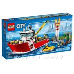 LEGO City Пожарникарска лодка Fire Boat - 60109